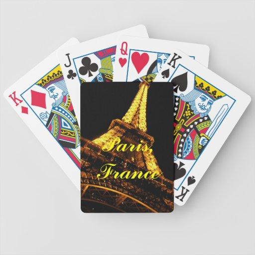 Naipes de París, Francia Barajas