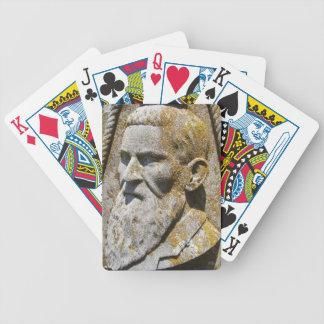 Naipes de piedra de los Woodsmen Baraja Cartas De Poker
