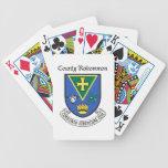 Naipes de Roscommon del condado Cartas De Juego