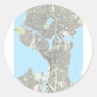Naipes de Seattle Etiqueta