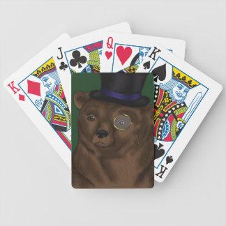 Naipes de señor Bear Cartas De Juego