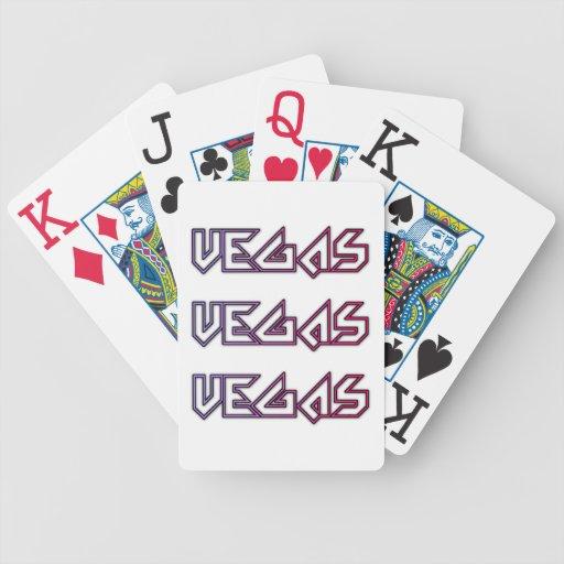 Naipes de Vegas para la venta Baraja