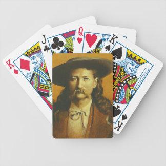 Naipes de Wild Bill Hickok Cartas De Juego