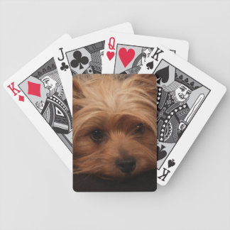 Naipes de Yorkshire Terrier Cartas De Juego