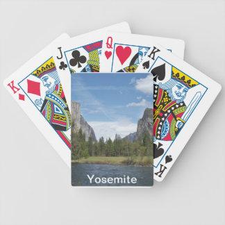 Naipes de Yosemite Barajas De Cartas