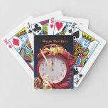 Naipes del Año Nuevo Baraja Cartas De Poker