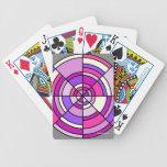 Naipes del arte abstracto baraja de cartas