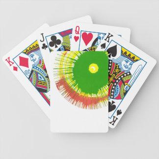 Naipes del arte de la vuelta baraja cartas de poker