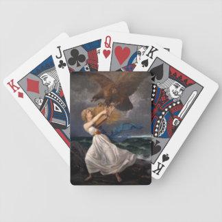Naipes del ataque de Isto Baraja Cartas De Poker