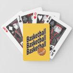 Naipes del baloncesto barajas