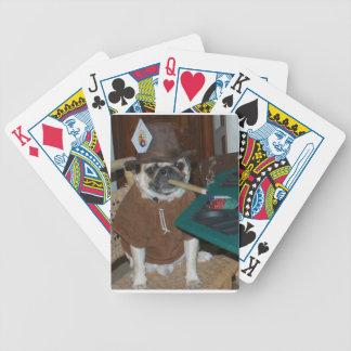 Naipes del barro amasado baraja de cartas
