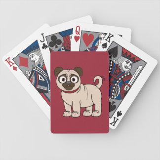 Naipes del barro amasado barajas de cartas