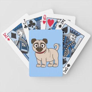 Naipes del barro amasado cartas de juego