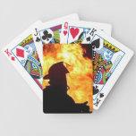 naipes del bombero barajas de cartas