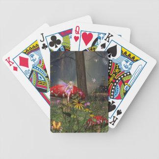 Naipes del bosque de hadas baraja de cartas