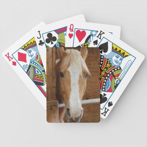 naipes del caballo de la castaña