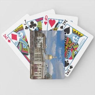 Naipes del capitolio del estado de Trenton Baraja Cartas De Poker