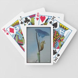 Naipes del ciclo vital de la mariposa baraja de cartas