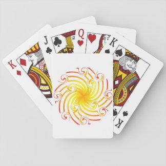 Naipes del círculo de la fortuna