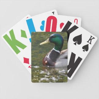 Naipes del comodín baraja cartas de poker