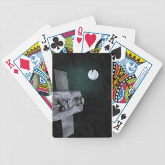 Naipes del cráneo de Halloween Baraja Cartas De Poker