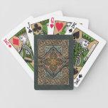 Naipes del diseño de Eagles del Celtic Baraja Cartas De Poker