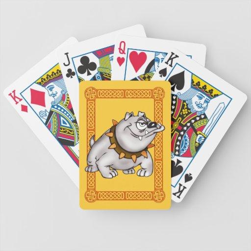 Naipes del dogo baraja de cartas