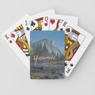 Naipes del EL Capitan Yosemite