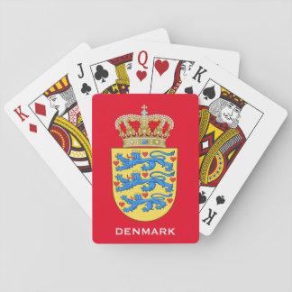Naipes del escudo de armas de Denmark*
