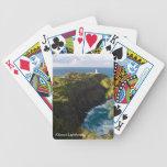 Naipes del faro de Kilauea Barajas De Cartas