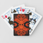 Naipes del fuego baraja cartas de poker