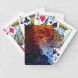 Naipes del fuego y del hielo barajas de cartas