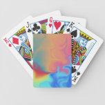 Naipes del fuego y del hielo cartas de juego