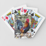 Naipes del gallo baraja de cartas
