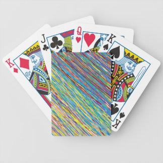 Naipes del garabato baraja de cartas