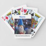 Naipes del gnomo cartas de juego