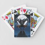 Naipes del hombre lobo baraja cartas de poker