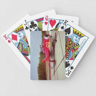 Naipes del instructor Mig-17 Baraja Cartas De Poker