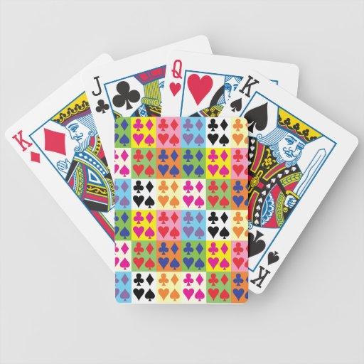 Naipes del juego baraja cartas de poker