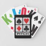 Naipes del jugador de la echada cartas de juego