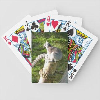 Naipes del Lemur Baraja Cartas De Poker