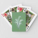 Naipes del lirio de los valles baraja de cartas