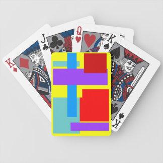 naipes del logotipo de la mezcla del color baraja cartas de poker