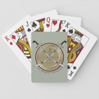 Naipes del logotipo de TAC Barajas De Cartas