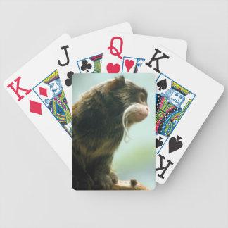 Naipes del mono del Tamarin Cartas De Juego