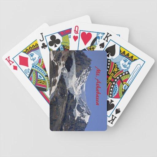 Naipes del Mt. Athabasca Baraja De Cartas