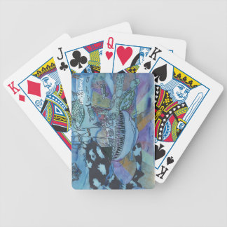 Naipes del mundo terrenal barajas de cartas
