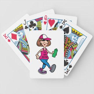 Naipes del nacido en el baby-boom barajas de cartas