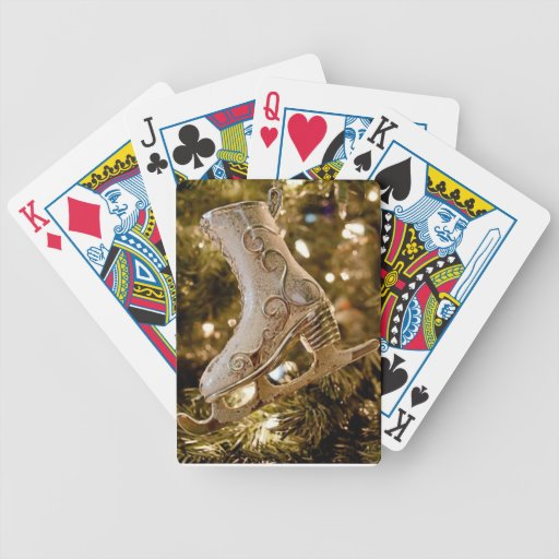 Naipes del navidad barajas de cartas