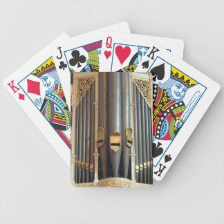 Naipes del órgano - ayuntamiento Sydney Baraja Cartas De Poker